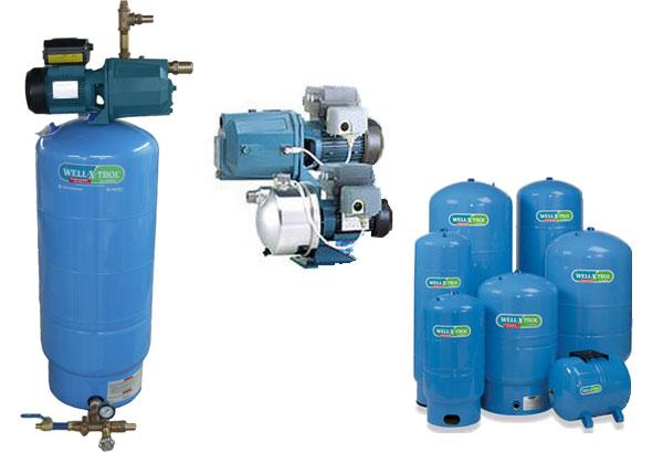 Pumps and Pressure Tanks